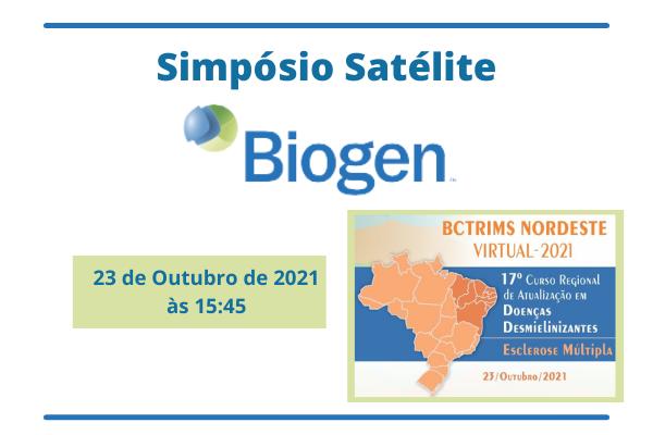 Curso para Simpósio Satélite BIOGEN - BCTRIMS NORDESTE VIRTUAL 2021
